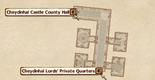 Cheydinhal Castle Private QuartersInteriorMap