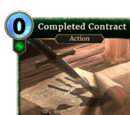 Completed Contract