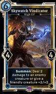 Skywatch Vindicator (Legends)