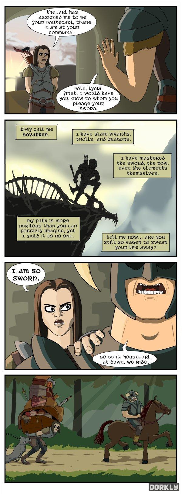 Skyrim comics 1