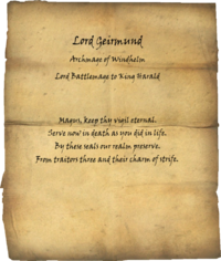 TESV Geirmunds Epitaph