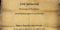 Geirmund's Epitaph
