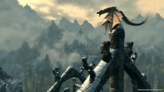 File:Skyrim dragon.jpg