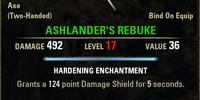 Ashlander's Rebuke