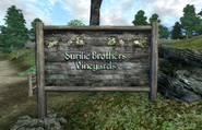 Surilie Brothers VineyardsSignpost
