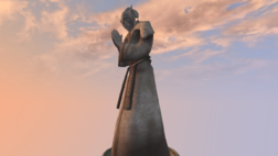 St. Olms Statue - Morrowind