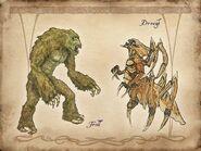 TESIV Concept Troll Dreugh