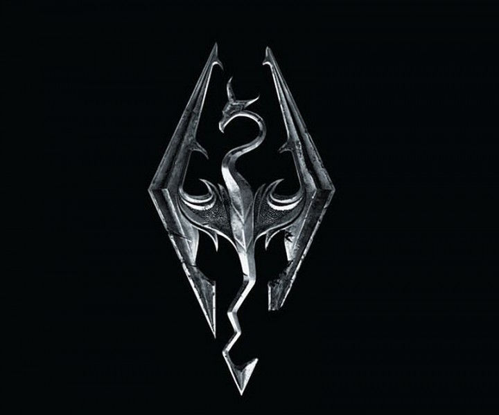 image - skyrim-logo-dragon   elder scrolls   fandom powered