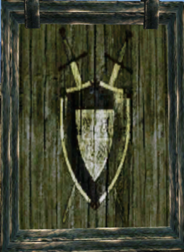 Fighters Guild Plaque - Morrowind