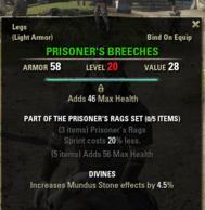 Prisoners Rags - Breeches 20