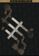 Mamaea, Sanctum of Black Hope Interior Map - Morrowind