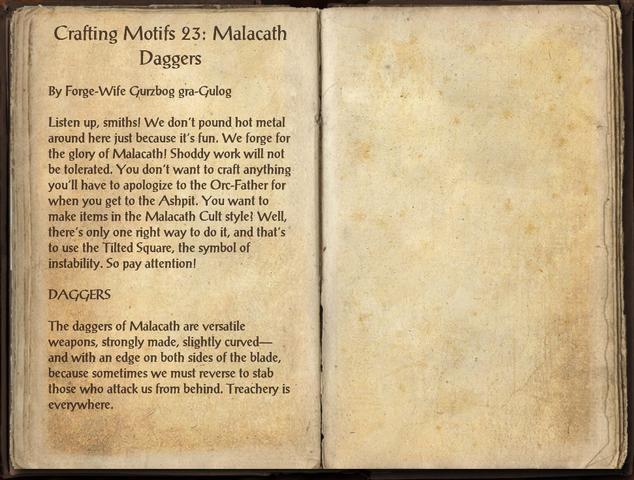 File:Crafting Motifs 23, Malacath Daggers.png