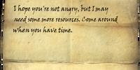 Letter from Ralis Sedarys 3