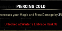 Piercing Cold