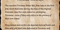 Trinimac House Idol (Book)