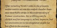 Raynor's Bthanual Notes