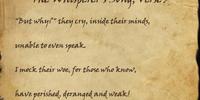 The Whisperer's Song, Verse 3
