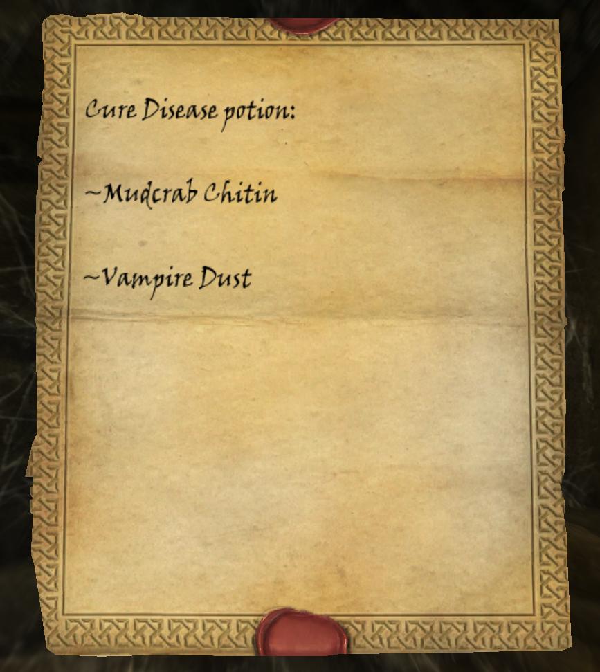 Cure Disease (Potion Recipe) | Elder Scrolls | FANDOM powered by Wikia