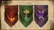 Battleground Banners Concept Art