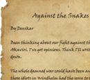 Against the Snakes