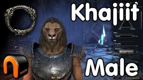 Elder Scrolls Online -- Khajiit Male - Character Creation