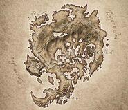 Shivering Isles Map