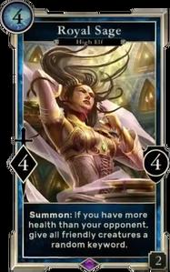 Royal Sage (Legends)
