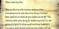 Rigel's Letter