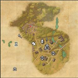 Crosswych Map Skyshard