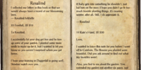 Letters from Leon and Rosalind