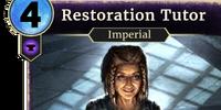 Restoration Tutor