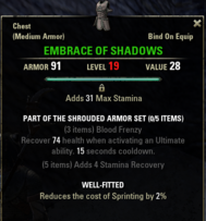 Shrouded Armor - Embrace 19