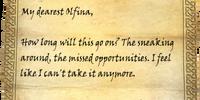 Letter from Jon