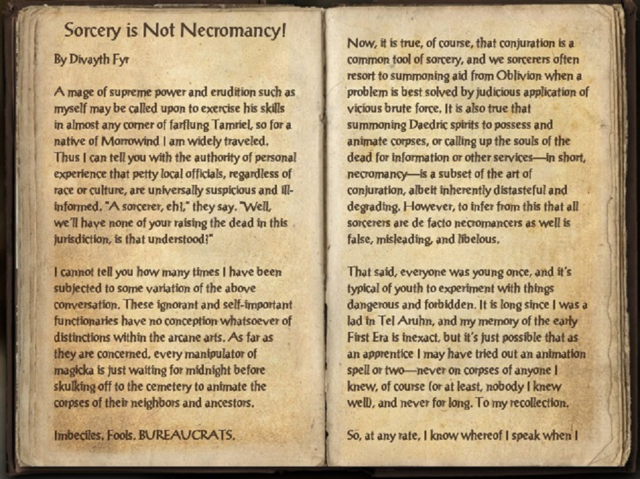 File:Sorcery is Not Necromancy by Divayth Fyr pt 1.png