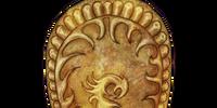 Golden Saint Shield