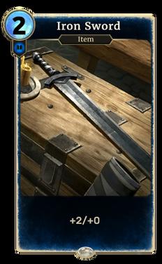 Iron Sword (Legends)
