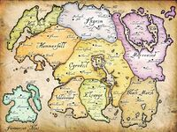 Map tamriel
