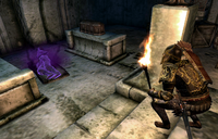 Hermaeus Mora (Quest) Casting Spell