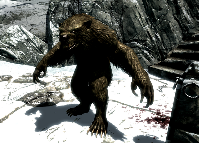 File:Werebear at Snowclad Ruins.png