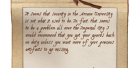 Note from Gray Fox