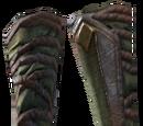 Crocodile Hide Gloves