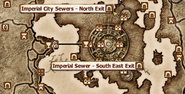 Imperial City Sewer Map