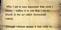 Anonymous Letter (Skyrim)