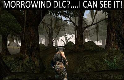 Morrowind DLC...