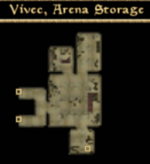 Arena Storage - Interior Map - Morrowind