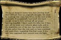 Beram Journal, Entry 2