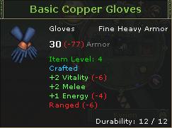 Basic Copper Gloves