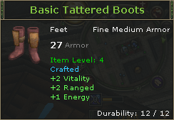 Basic Tattered Boots