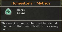 Homestone Mythos