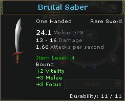 Brutal Saber